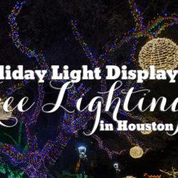 Houston Holiday Light Displays & Tree Lightings | Houston Moms Blog
