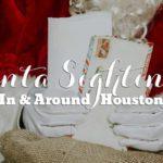 Santa Sightings In & Around Houston