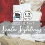 2017 Houston Area Santa Sightings