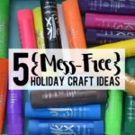 5 {Mess-Free} Holiday Craft Ideas