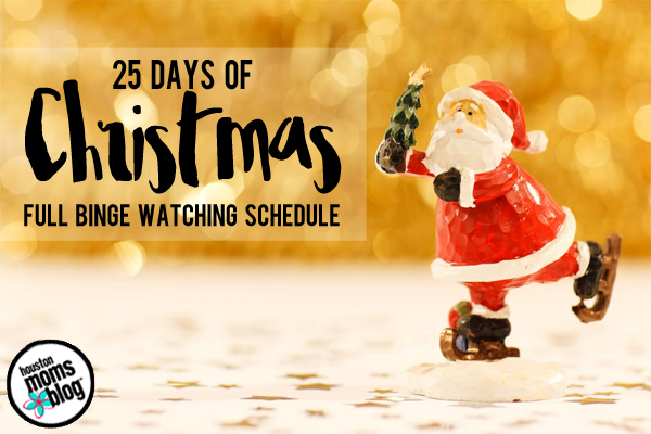 25 Days of Christmas TV Specials | Houston Moms Blog