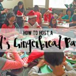 How to Host a Kid's Gingerbread Party