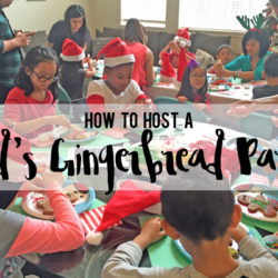 How to Host a Kid's Gingerbread Party   Houston Moms Blog