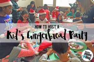 How to Host a Kid's Gingerbread Party | Houston Moms Blog