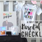 A First-Time Mom's Hospital Bag Checklist