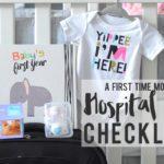 A First-Time Mom's Hospital Bag Checklist