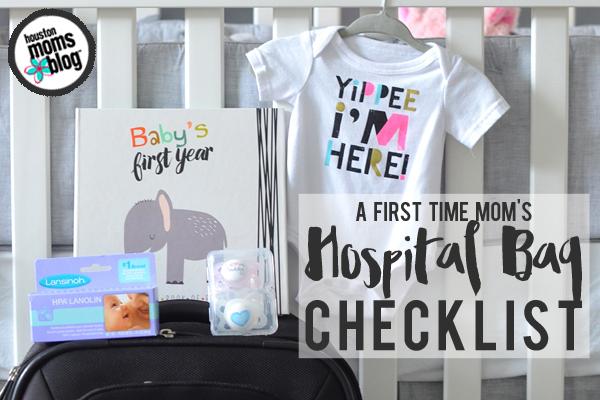 a first time mom s hospital bag checklist