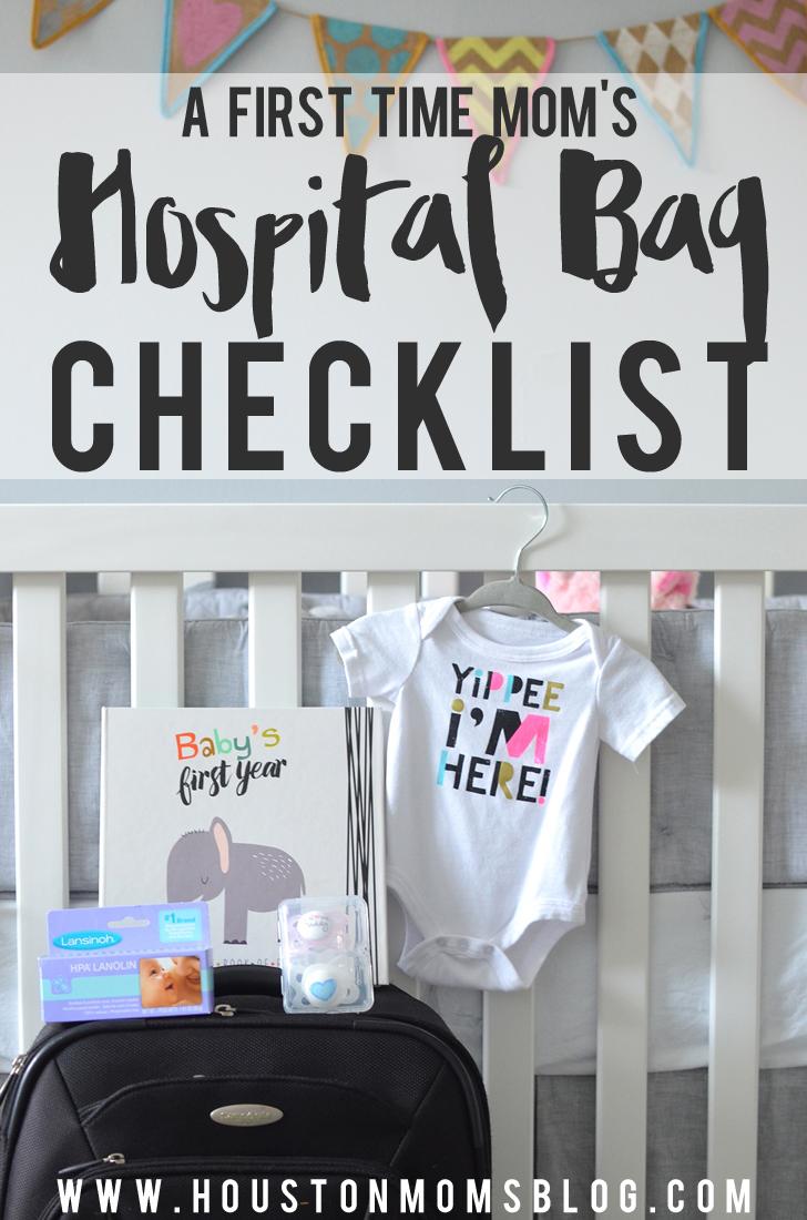 A First-Time Mom's Hospital Bag Checklist   Houston Moms Blog