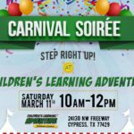 {FREE Event Announcement} Carnival Soiree at Children's Learning Adventure – Cypress