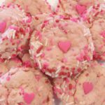 Valentine Sprinkle Cookies for Your Lovebug