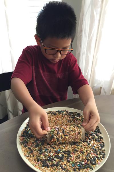 DIY Bird Feeder {Easy Earth Day Craft} | Houston Moms Blog
