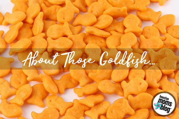 About Those Goldfish :: A Mom's Look into Food Allergy