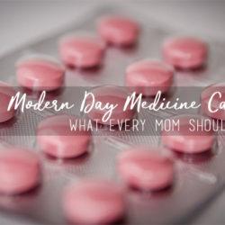 Modern Day Medicine Cabinet