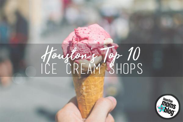 Houstons Top 10 Ice Cream Shops