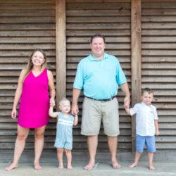 Brittney Family - Before