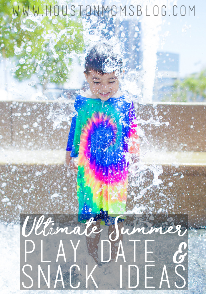 Ultimate Summer Play Date & Snack Ideas {For Both Moms AND Kids!} | Houston Moms Blog