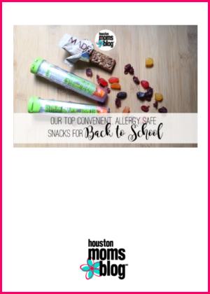 "Houston Moms Blog ""Our Top Convenient Allergy Safe Snack for Back to School"" #houstonmomsblog #momsaroundhouston #backtoschooltips"