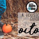 A Houston Mom's Guide to October