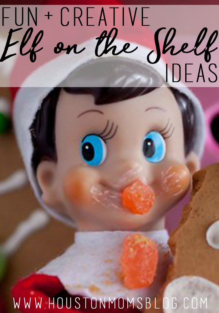 60 Fun + Creative Elf on the Shelf Ideas | Houston Moms Blog