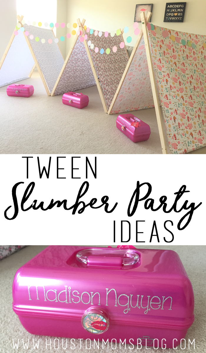 DIY Tween Slumber Party Ideas | Houston Moms Blog