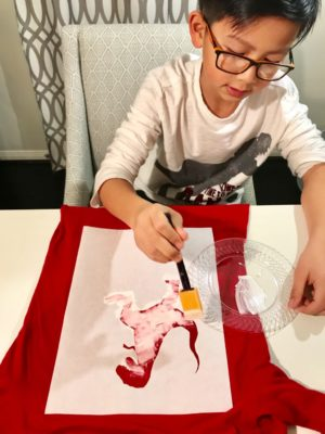 DIY:: Valentine's Day Shirt:: Houston Moms Blog