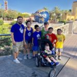 Navigating Universal Studios with a Big Family