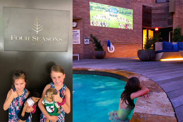 The Four Seasons Houston - Movie by the pool; Summer Splash Package