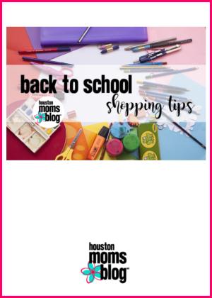 "Houston Moms Blog ""Back to School Shopping Tips"" #houstonmomsblog #momsaroundhouston"