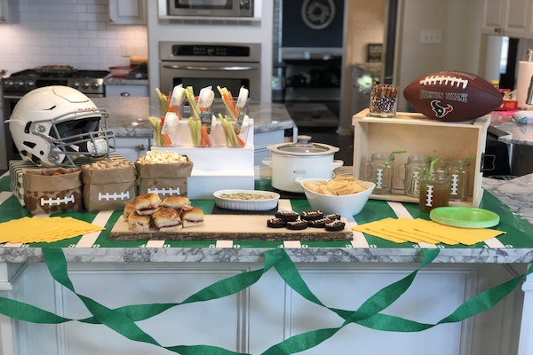 Show Your Team Spirit and Save Money:: Tailgating on a Budget | Houston Moms Blog