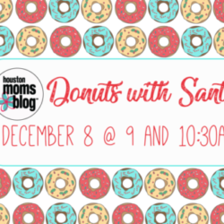 Donuts with Santa Graphic