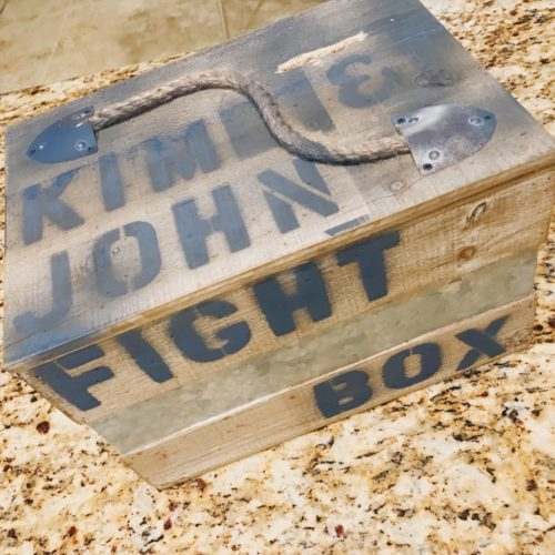 The Fight Box :: My Family's New Year's Resolution | Houston Moms Blog
