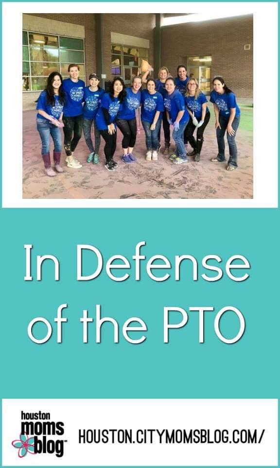 "Houston Moms Blog ""In Defense of the PTO"" #momsaroundhouston #houstonmomsblog #pto"