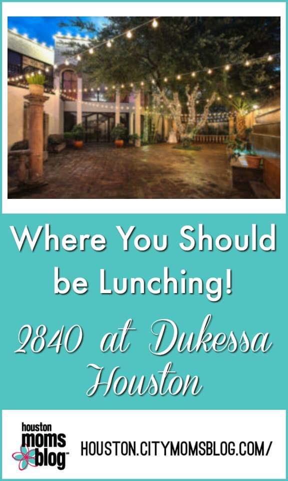 """Houston Moms Blog """"Where You Should be Lunching :: 2840 at Dukessa Houston"""" #momsaroundhouston #houstonmomsblog #2840atDukessa"""
