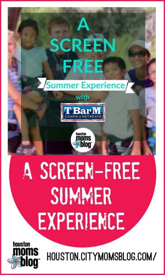 "Houston Moms Blog ""A Screen-free Summer Experience"" #houstonmomsblog #momsaroundhouston #tbarm #screenfree #unplug"