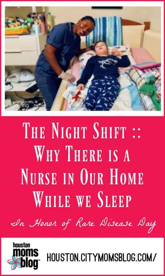"""Houston Moms Blog """"The Night Shift :: Why There is a Nurse in Our Home While We Sleep"""" #houstonmomsblog #momsaroundhouston #nightnurse"""