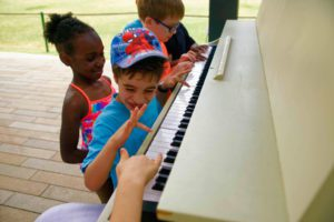 Public Piano Play - Levy Park
