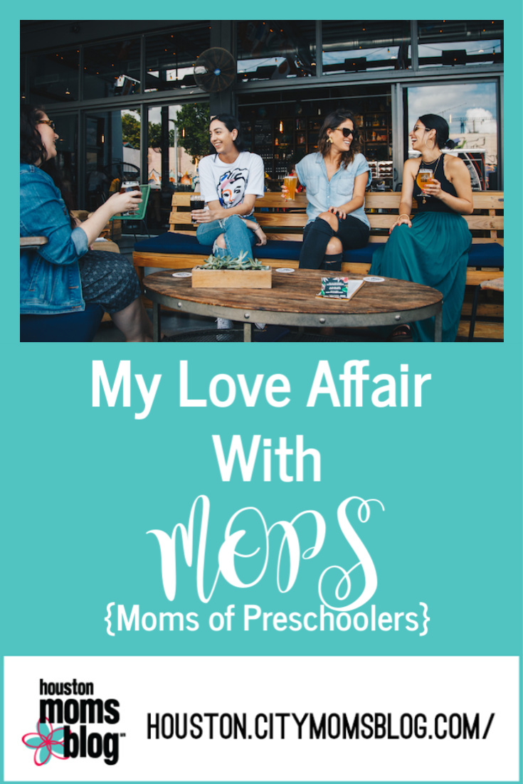 "Houston Moms Blog ""My Love Affair With MOPS {Moms of Preschoolers}"" #momsaroundhouston #houstonmomsblog"