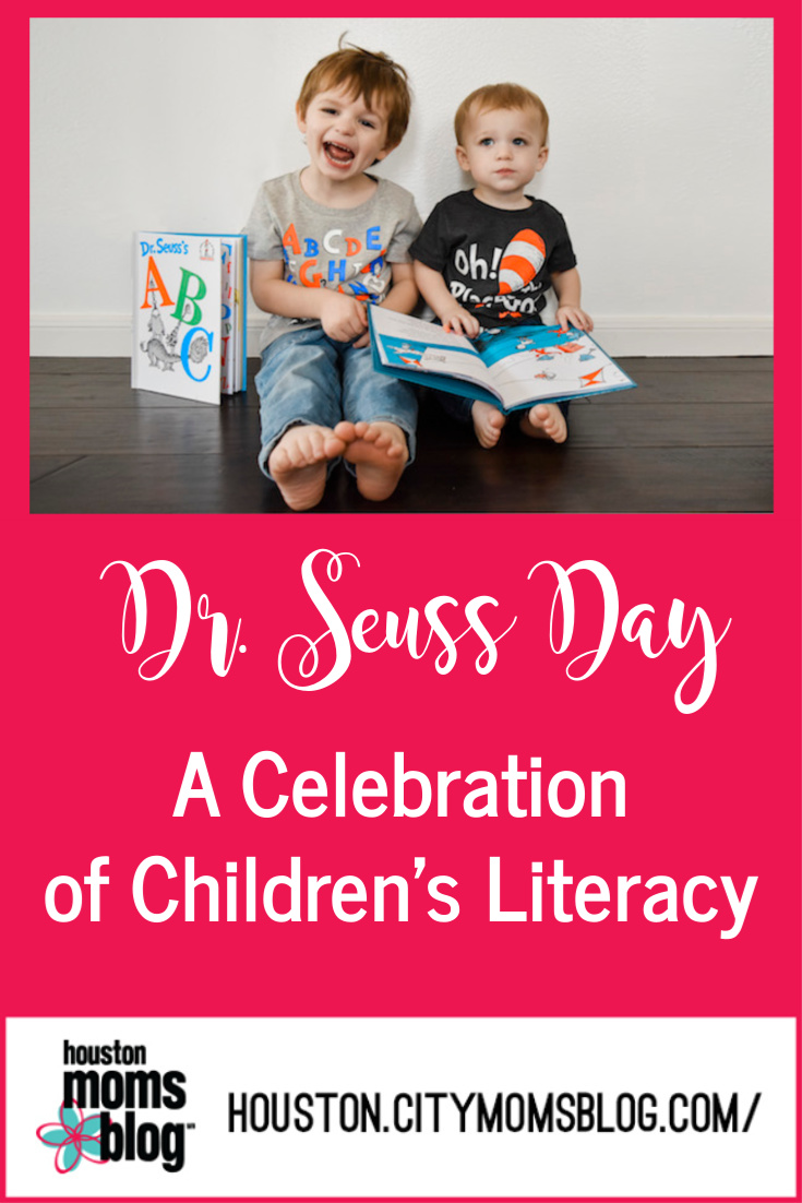 "Houston Moms Blog ""Dr Seuss Day :: A Celebration of Children's Literacy"" #momsaroundhouston #houstonmomsblog"