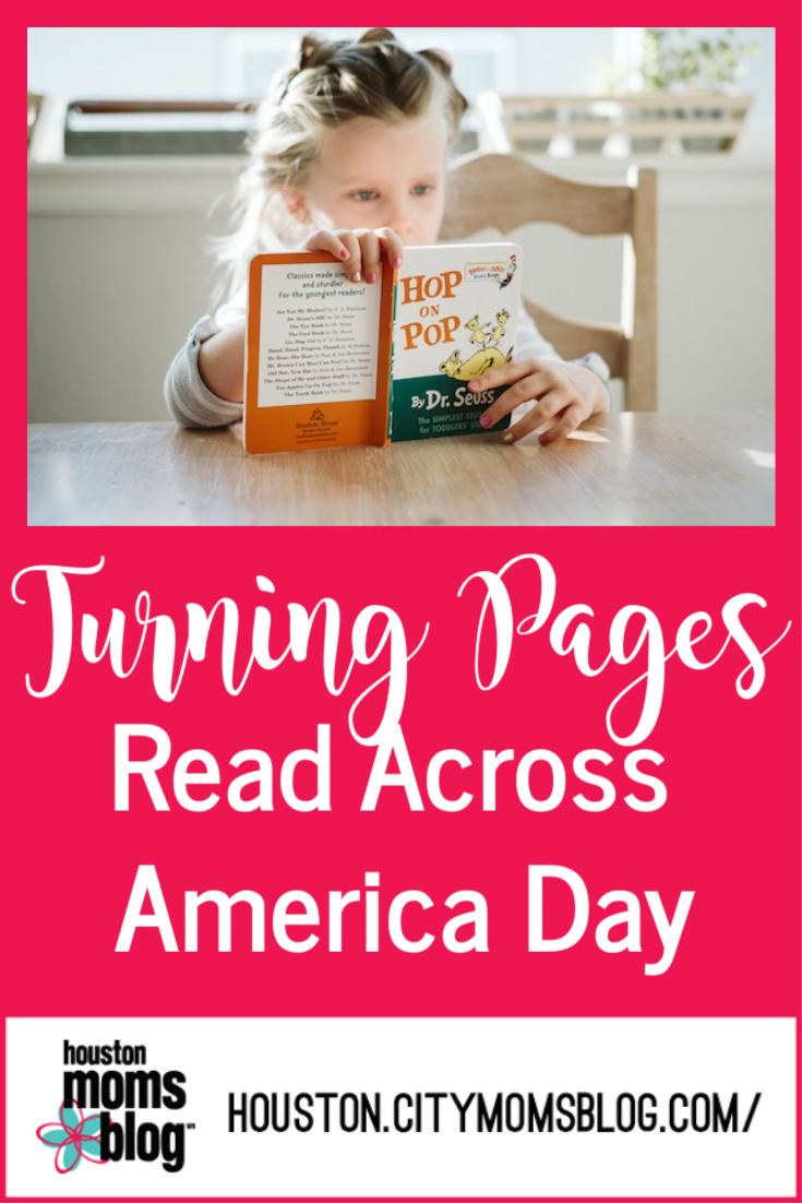 "Houston Moms Blog ""Turning Pages Read Across America Day"" #momsaroundhouston #houstonmomsblog"