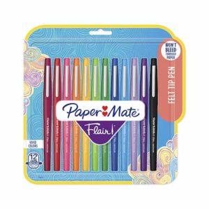 2. Paper Mate Flair Pens