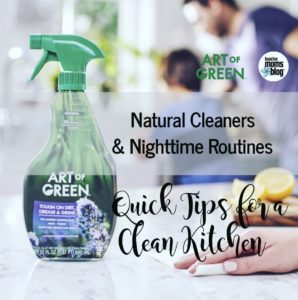 """Houston Moms Blog """"Natural Cleaners & Nighttime Routines :: Quick Tips for Clean Kitchens"""" #houstonmomsblog #momsaroundhouston"""