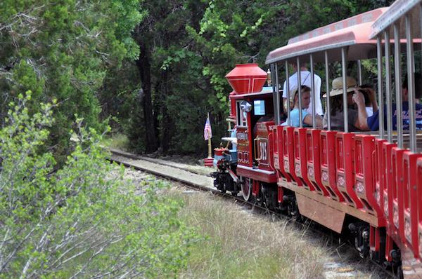 Train in Austin