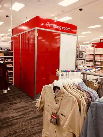 Target fitting room