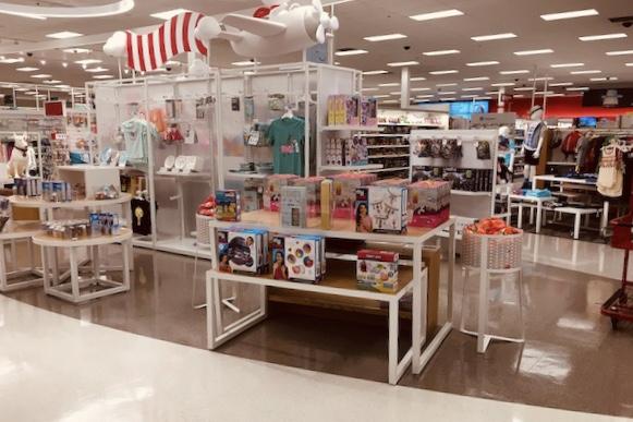 Target Remodel boutique display