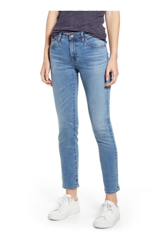 AG prima ankle skinny jeans