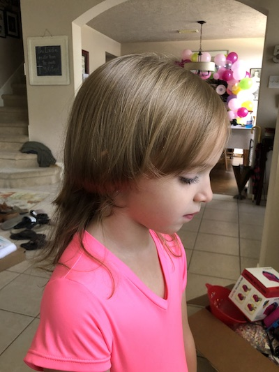Fighting Perfectionism :: What I Learned When My Daughter Gave Herself a Hair Cut | Houston Moms Blog
