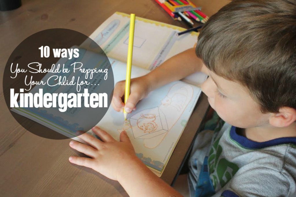 "Houston Moms Blog ""10 Ways You Should be Prepping Your Child For Kindergarten"" #houstonmomsblog #momsaroundhouston"
