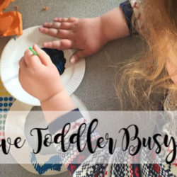 Creative Toddler Busy Box for Families on the Go | Houston Moms Blog