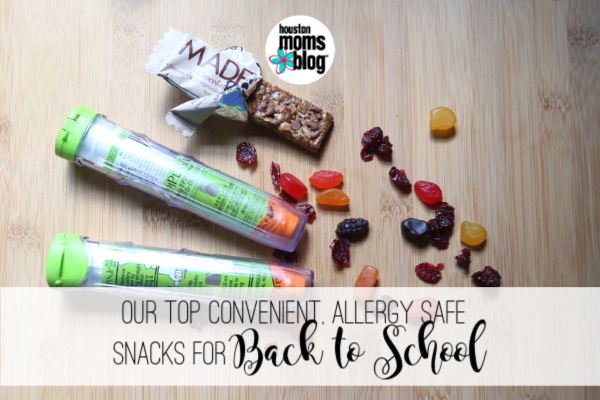 "Houston Moms Blog ""Our Top Convenient, Allergy Safe Snacks for Back to School"" #houstonmomsblog #momsaroundhouston"