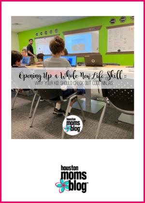 """Houston Moms Blog """"Opening Up a Whole New Life Skill :: Why Your Kid Should Check Out Code Ninjas"""" #houstonmomsblog #momsaroundhouston"""
